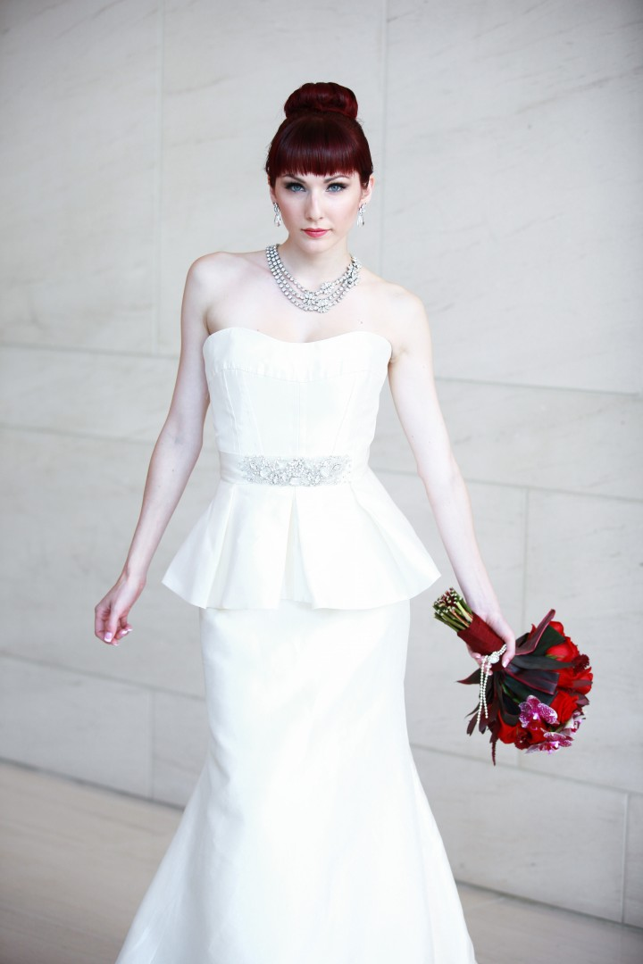 Photography by Eric Marcina of Urban Wedding<br /> Hair/Makeup by Victoria Ho