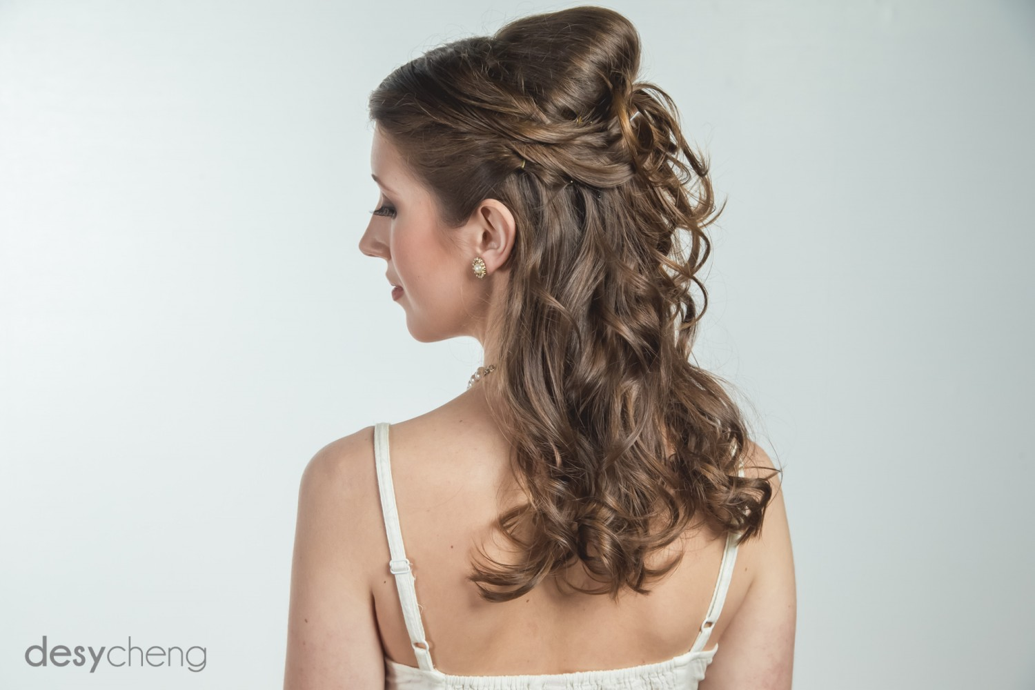 Hair and Makeup by Kaitlin Chapple<br /> Photography by Desy Cheng<br /> Model Nicole