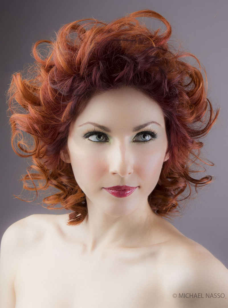 Photography by Michael Nasso<br /> Hair by Toni & Guy Toronto