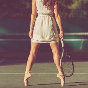 Tennis Ballerina I