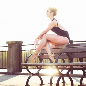 Ballerina on the Bench