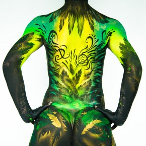 Brazilian Bodypaint by @natachatrottier
