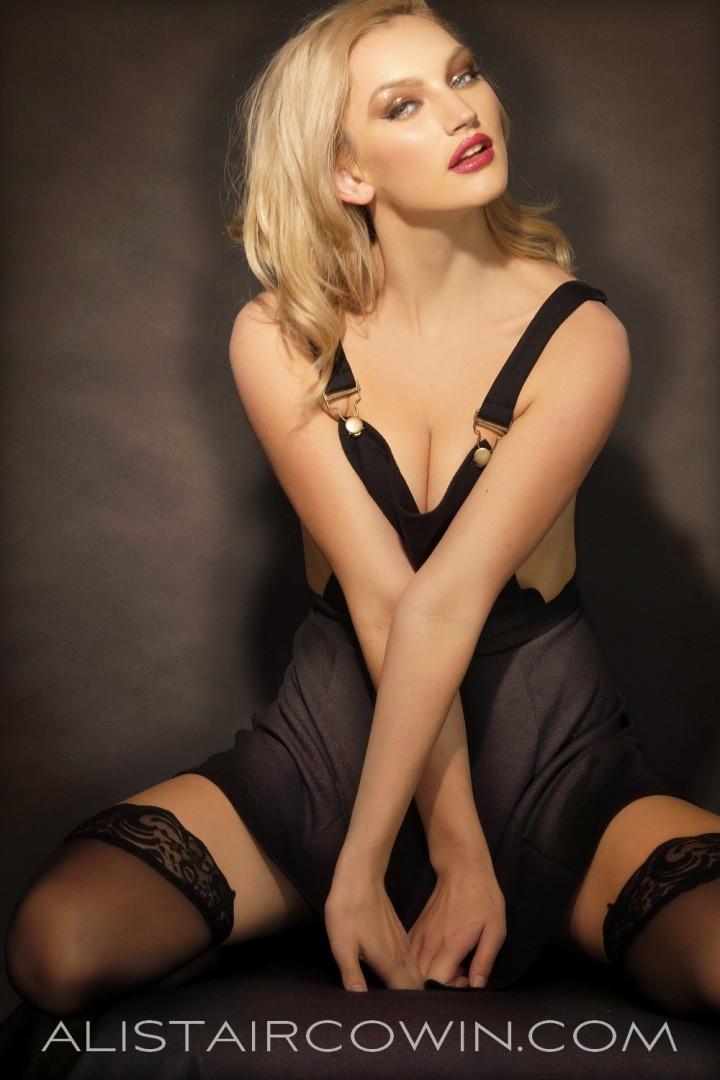Image created for model's Portfolio   Makeup: Chloe Bradley / Hair: Sammy Carpenter / Photo: Alistair Cowin