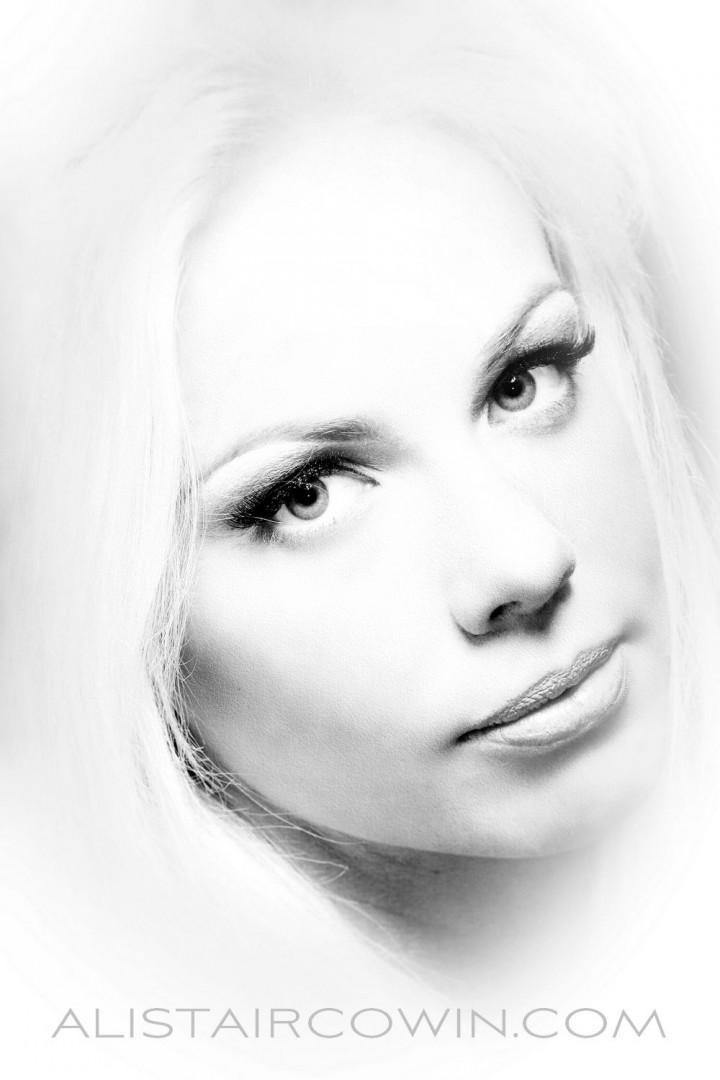 Photographed for Alistair Cowin's Beauty Books and the model's Portfolio<br /> Makeup: Sammy Carpenter<br /> Model: Jadene Meesha
