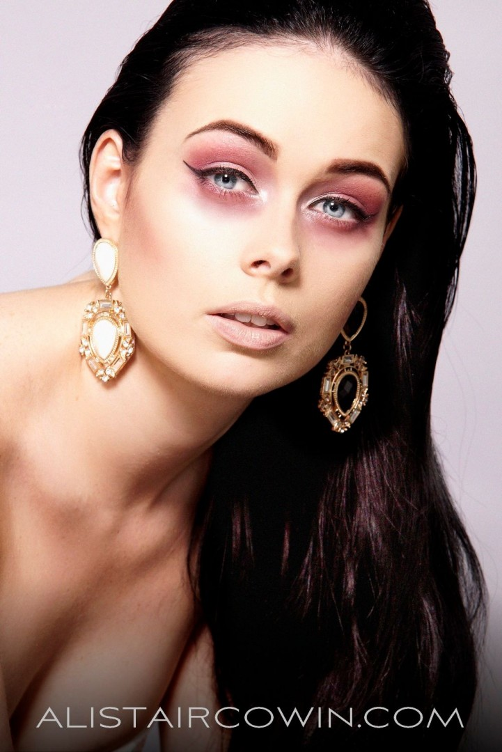Photographed for Alistair Cowin's Beauty Book and the model's Portfolio<br /> MUA: Hannah Field