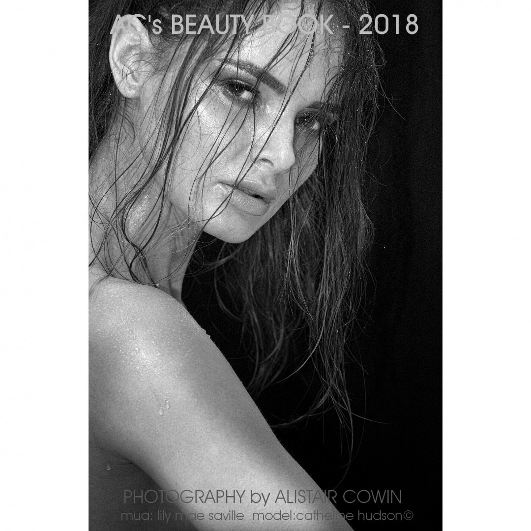 Photo taken for model's Portfolio and Alistair Cowin's Beauty Books