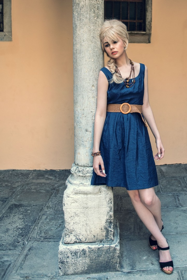 Photographer, stylist & retouch - Conrad Webb<br /> Model - Atalanta<br /> Dress - Nine West<br /> Shoes - Karen Millen<br /> Hair Stylist - Vimal Chavda<br /> MUA - Gwen Reece<br /> Assistant - Mark Goddard<br /> Location Venice<br /> Shot over 2.5 days in Venice, May 2016