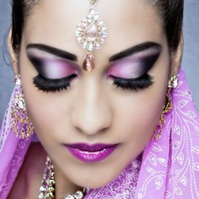 Asian bridal beauty